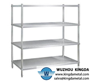 4-layer Stainless Steel Kitchen Shelves
