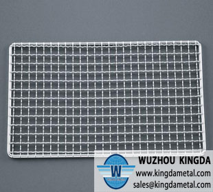 Barbecue square mesh