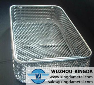 Basket for medical sterilization