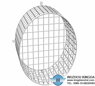 Electric wire mesh fan guards