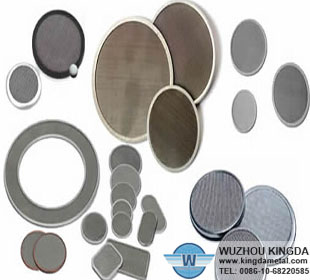 Filter Disc for plastic recycling