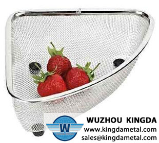 Fruit colander basket
