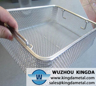 Instruments sterilization basket