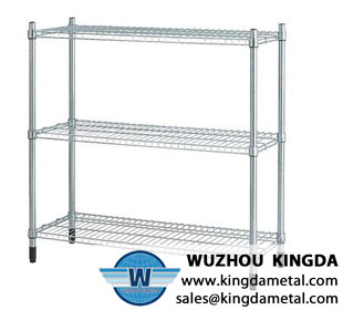 Kitchen stainless steel storage shelf