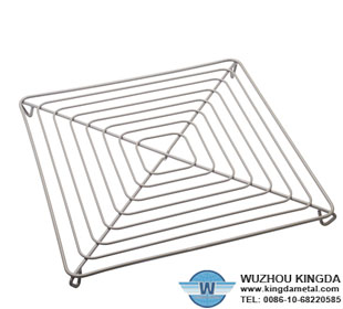 Kitchenware cooling rack