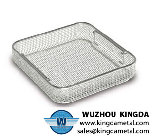 Medical autoclave tray