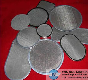 Multilayer mesh filter leaf