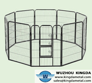 Outdoor folding animal cage
