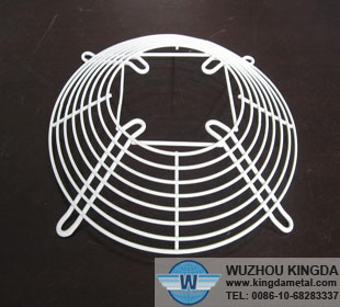 PVC coated metal fan guard