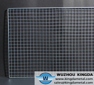 Square wire mesh barbecue net