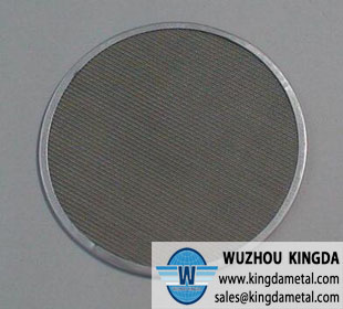 Stainless mesh filter screen