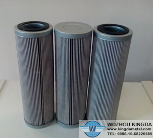 Stainless oil filter elements