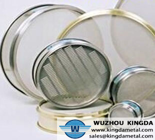 Stainless plate screen element