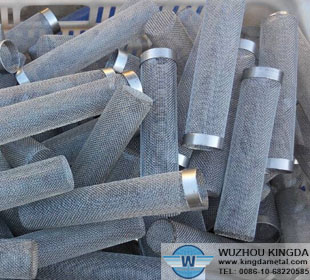 Stainless steel mesh tube