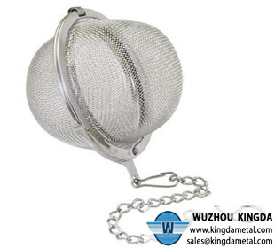 Stainless steel silver tea ball