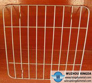Stainless steel welded grill