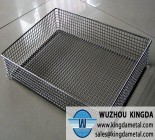 Stainless wire basket