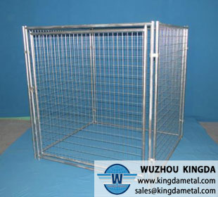 The square animal cage