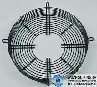 Condenser metal fan guard