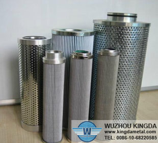 Filter screen mesh for hydraulic oil