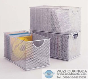 Mesh CD Storage Box