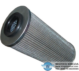 Metal screen air filters