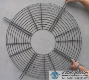 Metal wire fan finger guard