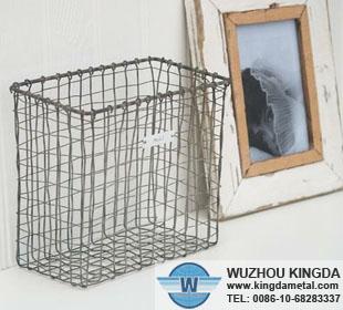 Metal Wire Wall Basket Metal Wire Wall Basket Supplier Wuzhou Kingda Wire Cloth Co Ltd