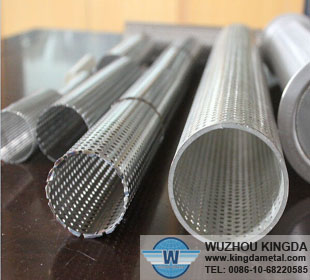 Perforated stainless steel filter