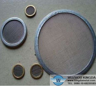 Round filter screens