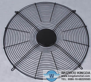 Stainless steel welded fan guard