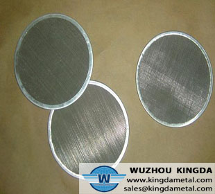 Stainless leaf filter
