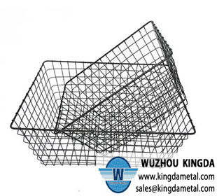 Stainless steel kitchen cooking wire mesh basket