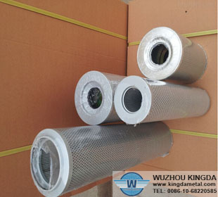 Stainless steel liquid filter element