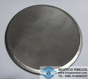 Stainless steel mesh disc