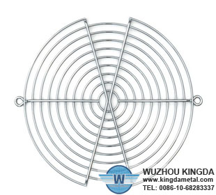 Stainless steel mesh fan guard