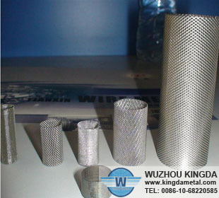 Wire mesh fuel tubing